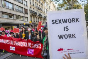 French Prostitutes Protest Against New Law Penalizing Clients