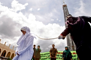 INDONESIA-ISLAM-LAW-ACEH