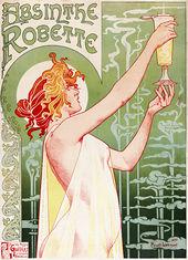 absinthe 2 Henri Privat-Livemont's 1896 poster