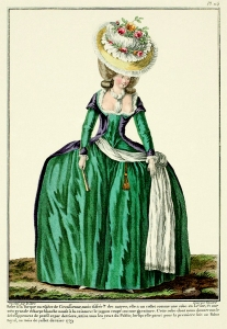 18th Century Fashion Plate 114