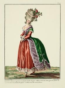18th Century Fashion Plate 121