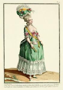 18th Century Fashion Plate 50