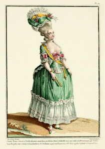 18th Century Fashion Plate 50