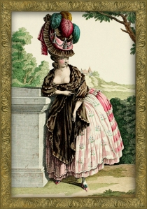 Naughty late 18th Century Fashion Plate 27